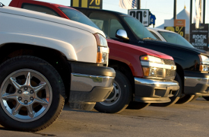 Auto Repair Orem: Trucks in a line